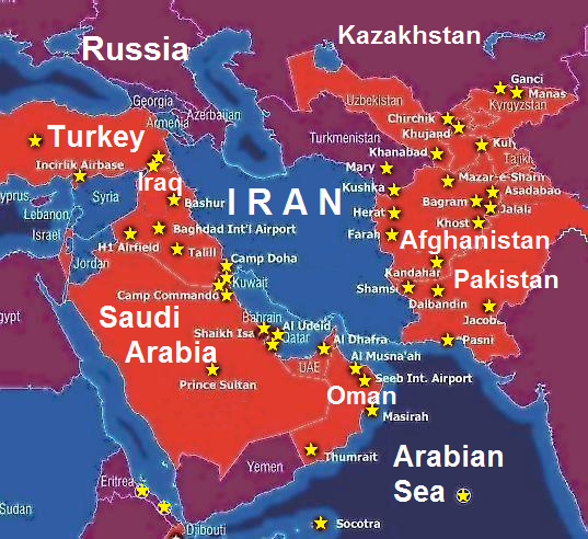 Iran Russia and China all want war with the US PROOF